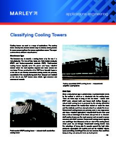 Classifying Cooling Towers