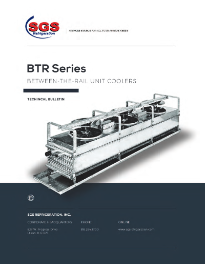 SGS BTR Series Unit Cooler