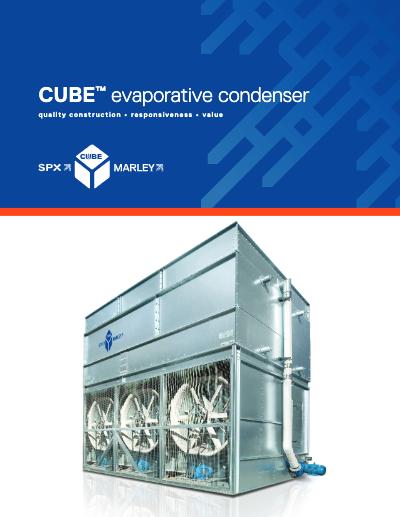 Cube Evaporative Condenser