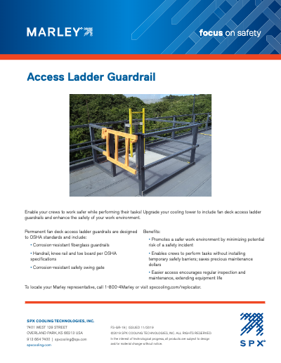 Access Ladder Guardrail