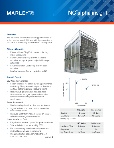 Marley Insight - NC Alpha Cooling Tower
