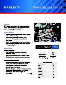 Marley Insight - Parts Service