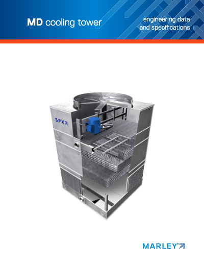 Marley MD Cooling Tower Engineering Data and Specifications