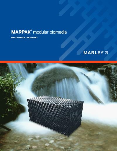 Marley MarPak Modular Biomedia