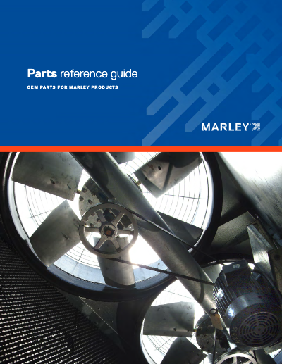 Cooling Tower Parts Reference Guide and Catalog