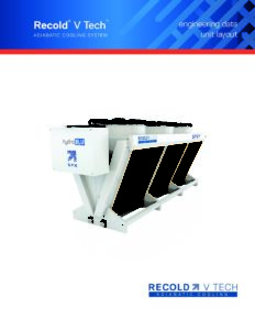 Recold V Tech Adiabatic Cooler Layout Manual