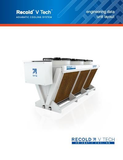 V Tech Adiabatic Fluid Cooler Layout Manual