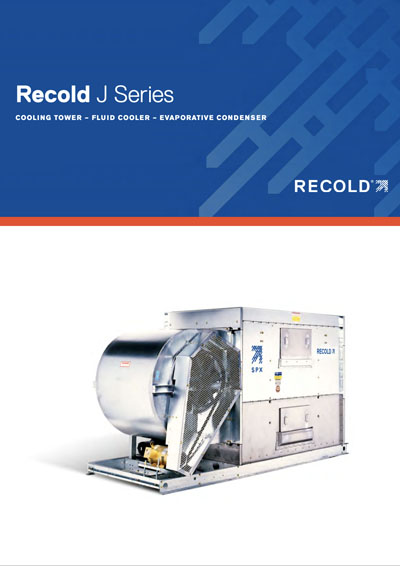 Recold J Series Fluid Cooler, Evap Condenser and Cooling tower