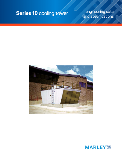 Marley Series 10 Crossflow Cooling Tower Brochure