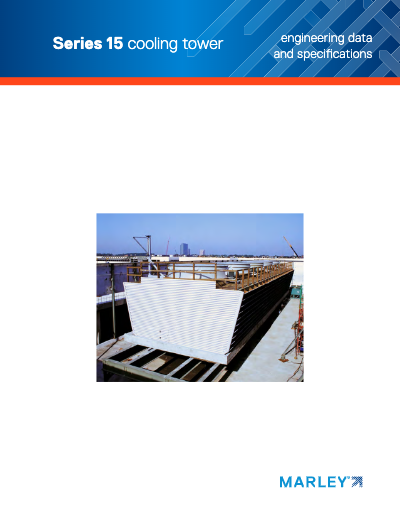 Marley Series 15 Crossflow Cooling Tower Brochure