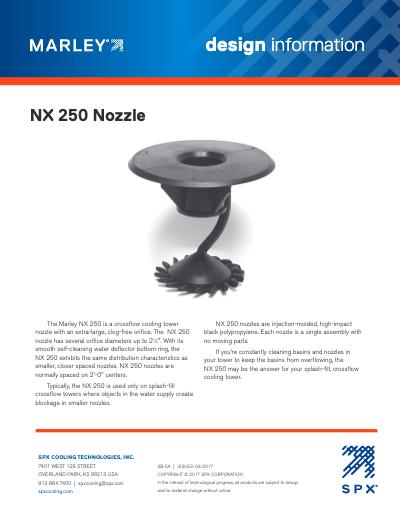 Marley NX250 Crossflow Nozzle