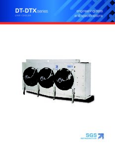 SGS BTR Series Unit Cooler