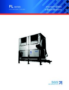 SGS FL Series Centrifugal Product Cooler