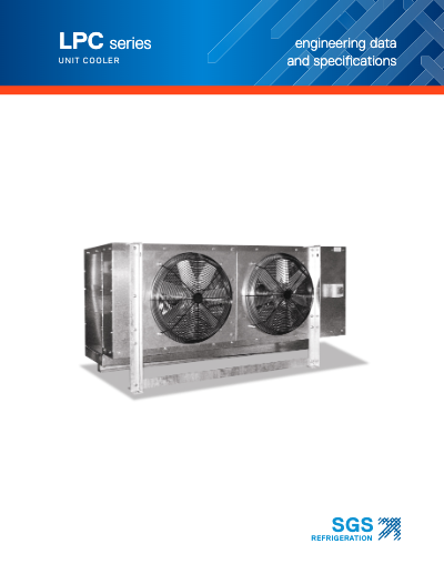 SGS LPC Series Product Cooler
