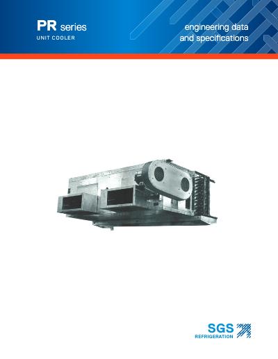 SGS PR Series Unit Cooler