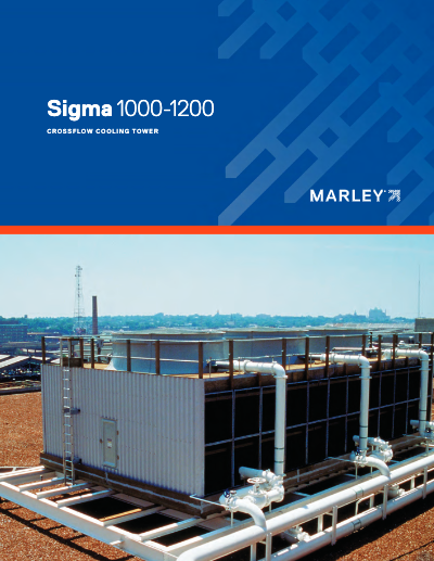 Marley Sigma Wood Cooling Tower