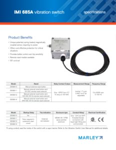 Vibration Switches - SPX Cooling TowersSPX Cooling Technologies