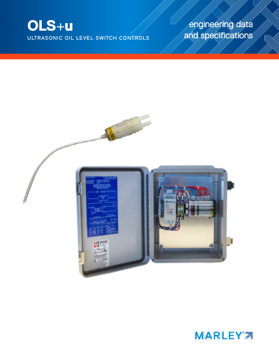 Ultrasonic Oil Level Switch and Controls Engineering Data