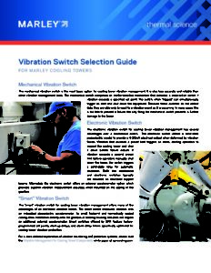 Vibration Switch Selection Guide