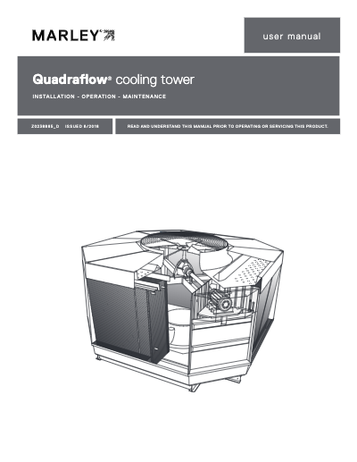 Marley QuadraFlow Cooling Tower User Manual