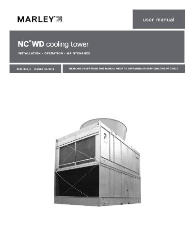 Marley NCWD Tower User Manual