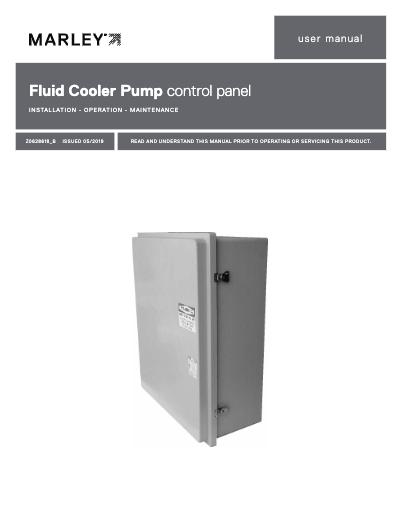 Marley CoolBoost Pump Control Panel User Manual