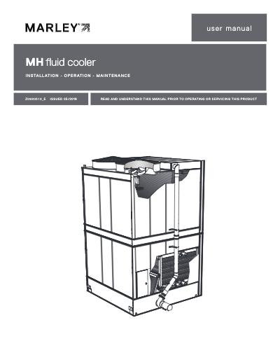 MH Fluid Cooler User Manual
