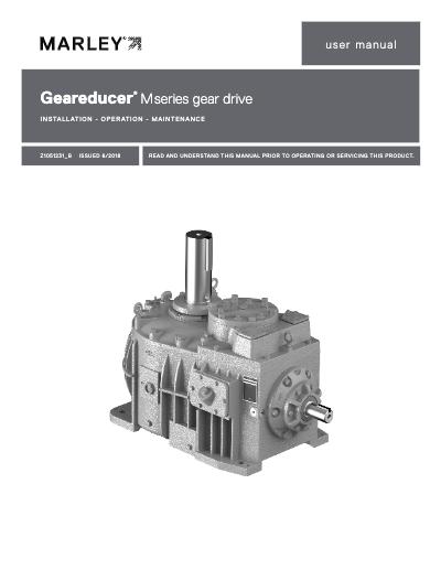 M Series Geareducer IOM User Manual