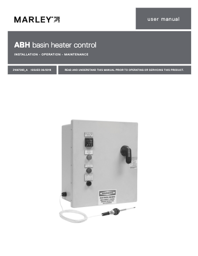 ABH Basin Heater User Manual