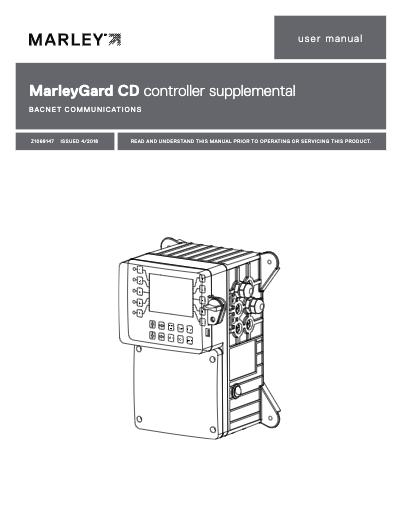 MarleyGard CD Controller BACNET User Manual