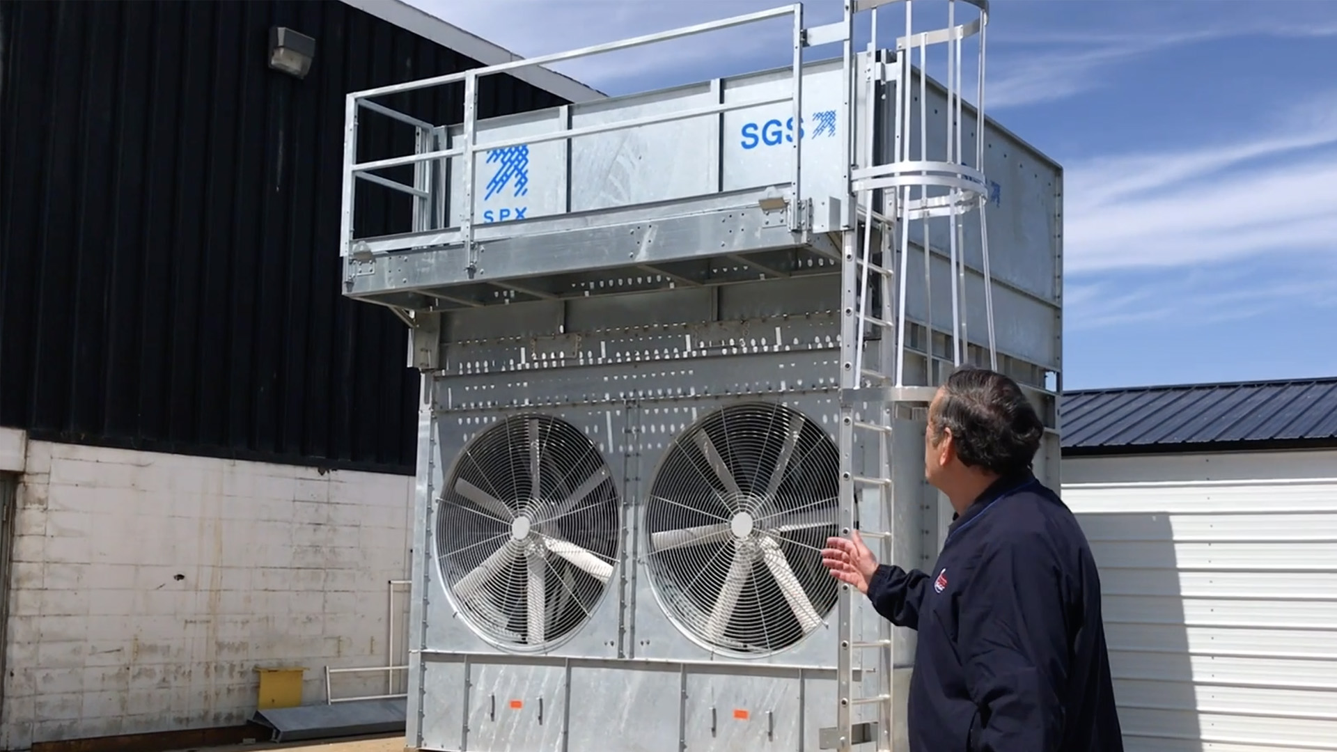 Cooling Tower Video