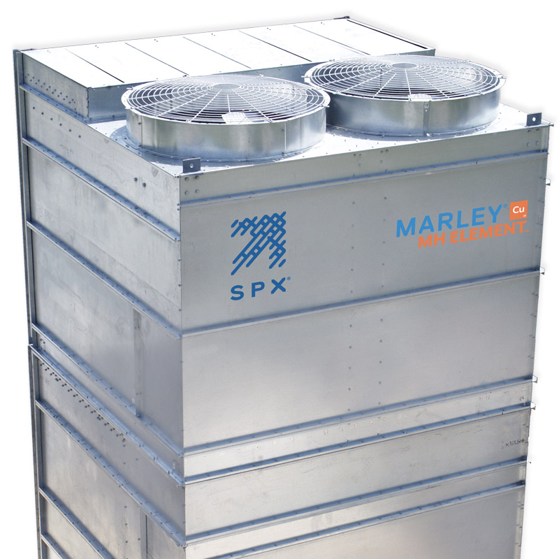New Marley® MH Element™ Fluid Cooler Offers Greater Efficiency with Superior Heat Transfer and Corrosion Resistance