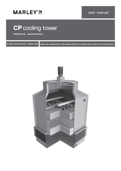 CP Cooling Tower IOM User Manual